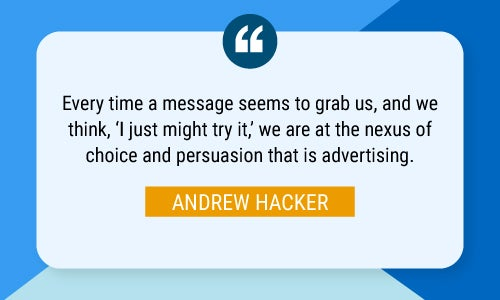 Andrew Hacker quote