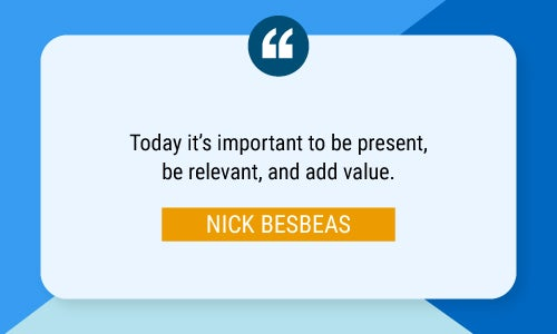 Nick Besbeas quote