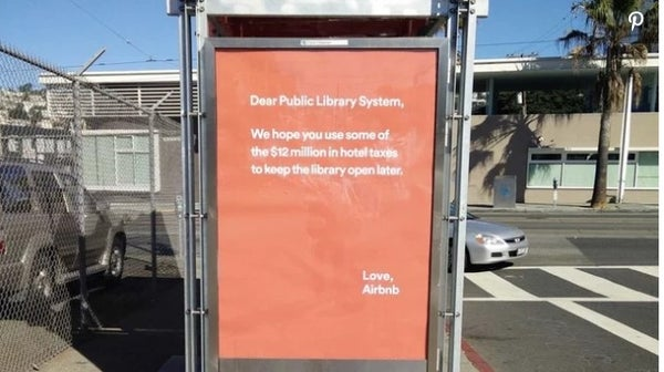 Airbnb condescending ad