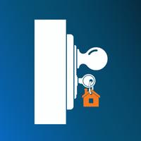 Locked door graphic