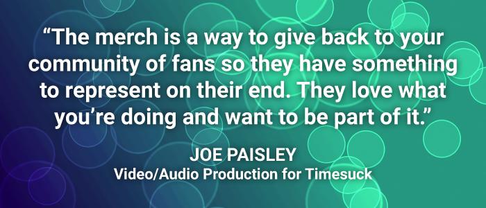 Joe Paisley quote