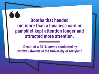 Quote about trade show booths