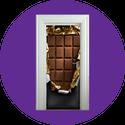 Chocolate bar graphic