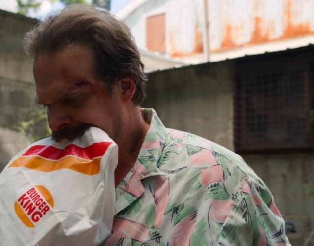Burger King stranger things season 3