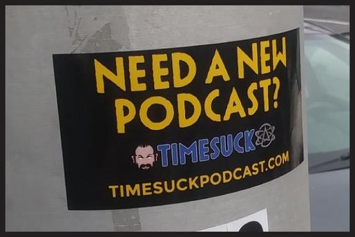 Timesuck Stickers
