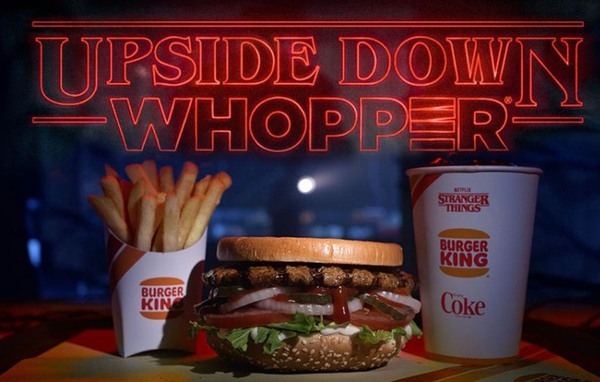 Upside Down whopper