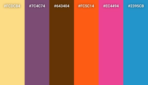 Coco color scheme