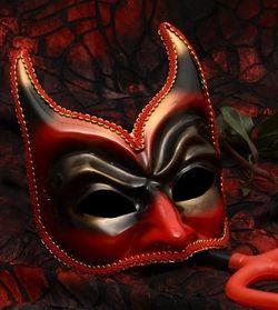 Devil mask for Halloween