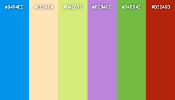 Inside Out color scheme