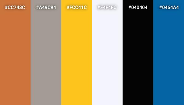 Wall-E color scheme
