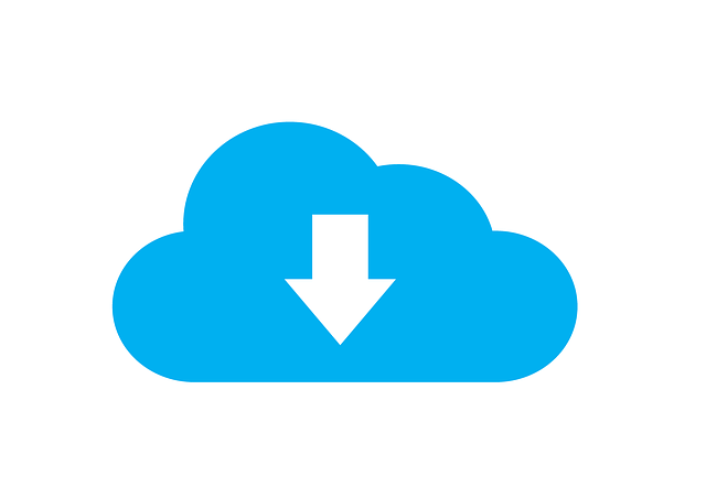 download to the cloud graphic