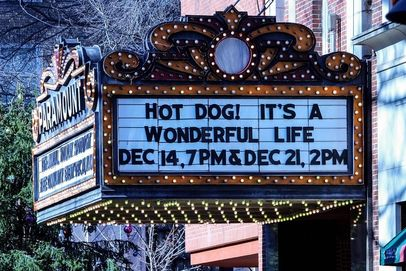 It's a Wonderful Life marquee