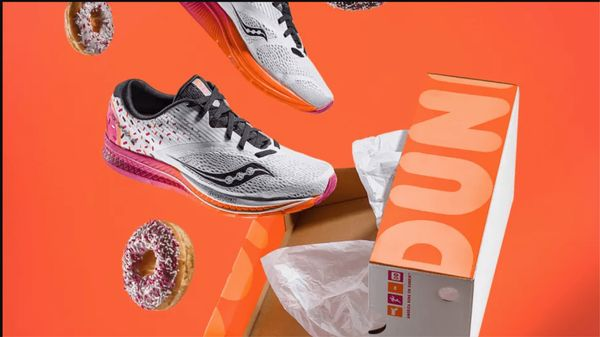 Dunkin Donuts Gym Shoes