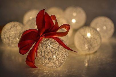 Light-up Christmas ornaments