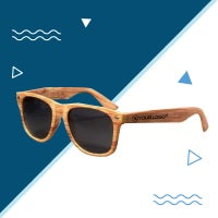 custom woodgrain sunglasses