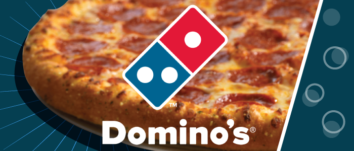 Domino's graphic