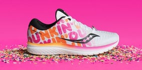 Dunkin' Donuts gym shoes