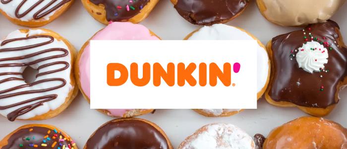 Dunkin' graphic