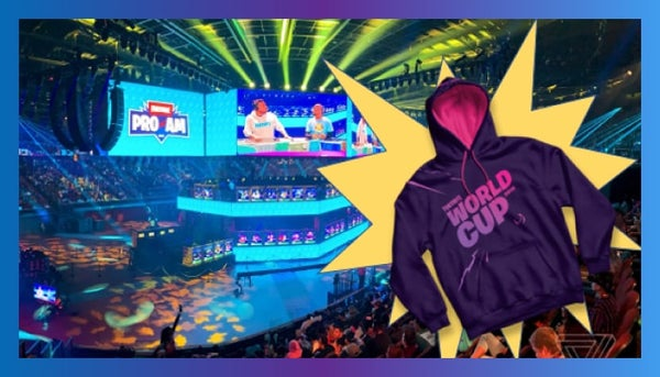 Fortnite tournament hoodies
