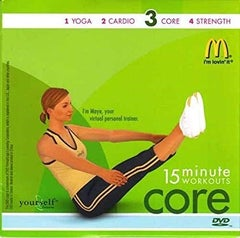 McDonald's fitness DVDs