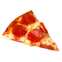 realistic pepperoni pizza graphic