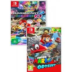 Mario Kart 8 and Super Mario Odyssey