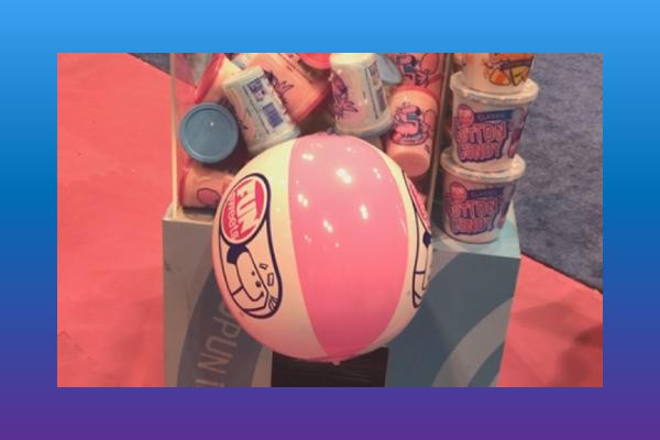 Fun Sweets Cotton Candy beach ball
