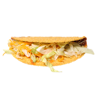 realistic taco graphic