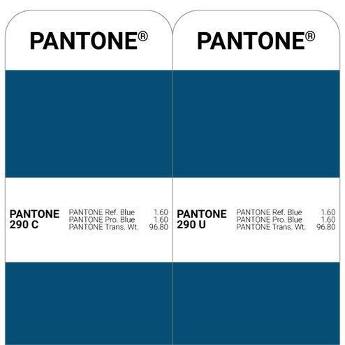 Pantone C vs. Pantone U