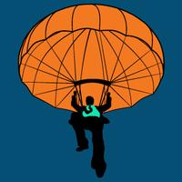 parachute graphic