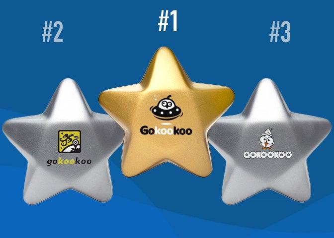 Gokookoo star stress balls