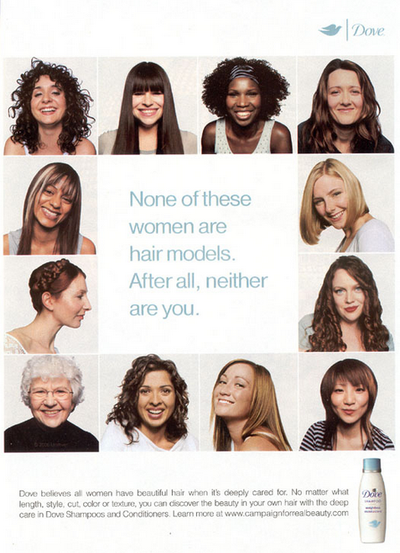 """Dove """"Real Beauty"""" campaign"""