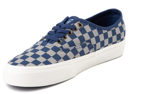 Checkered vans shoes