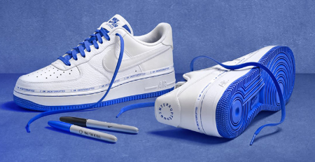 Sharpie and Nike Collaboration