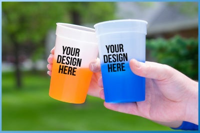 color-changing custom cups