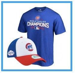 Cubs Championship merchandise