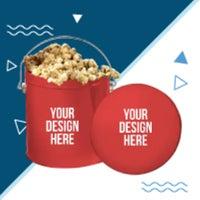 custom popcorn tins