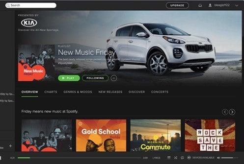 Spotify sponsored playlists