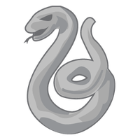 Slytherin snake