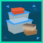 tupperware and boxes graphic