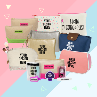 Cosmetic bags or pouches