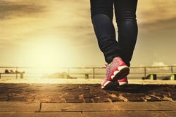 walking 10,000 steps
