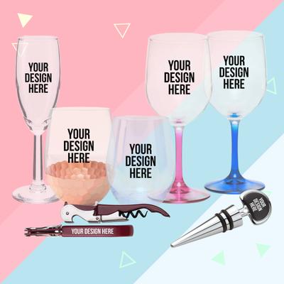 Wine glasses or accessories