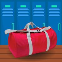 Soft Barrel-Shaped Duffel Bag graphic