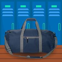 Dual-Handled Duffle Bag graphic