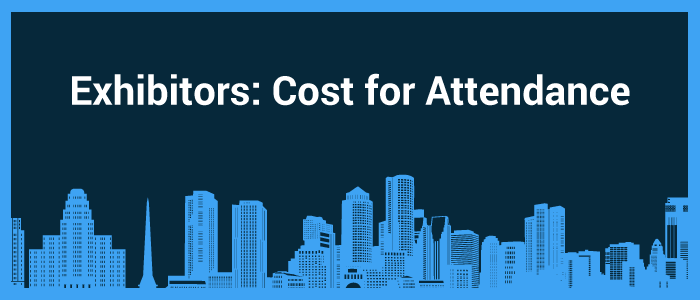 how much does it cost to attend a trade show