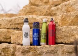 Custom Metal Water Bottles