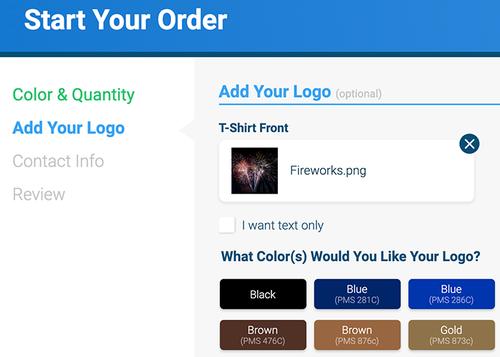 add your logo qlp