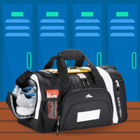 Gym Bag with Shoe Compartment graphic