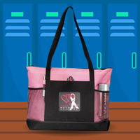 Zippered Tote Bag graphic